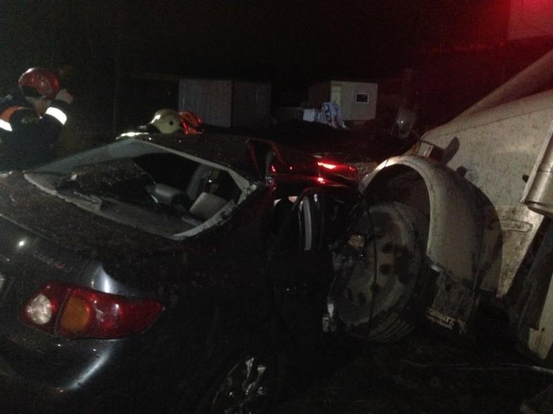Пассажир иномарки умер встолккновении сфурой наЮго-Западной окружной дороге Ярославля