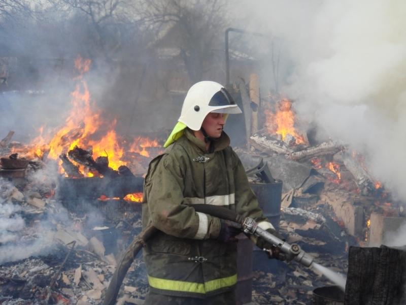 ВВеневском районе дотла сгорел дом