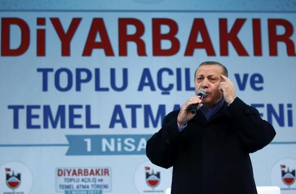Президент Турции назвал себя «хранителем мира»