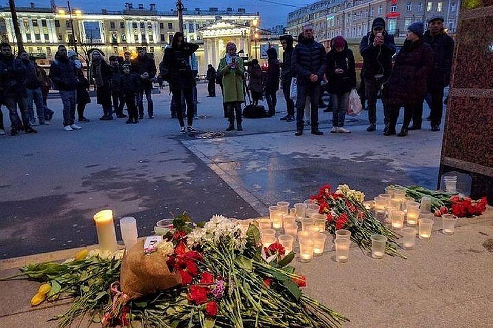 Бастрыкину вПетербурге оповестили опервых результатах расследования взрыва вметро
