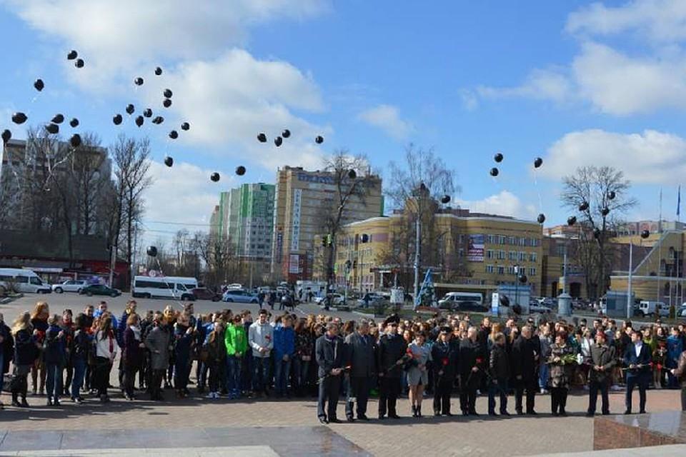 Брянцы почтили память жертв теракта в северной столице