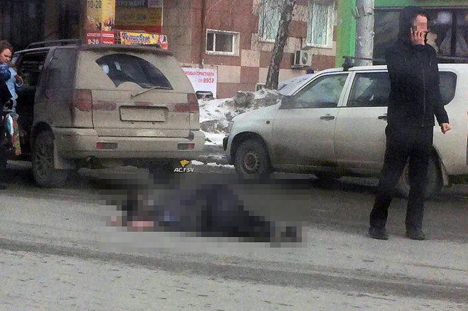 ВНовосибирске наулице Богаткова полицейский сбил женщину