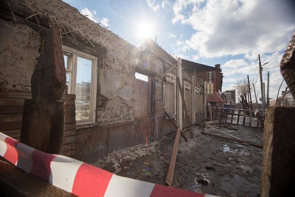 Старинную усадьбу вцентре Челябинска снесли ради платной парковки