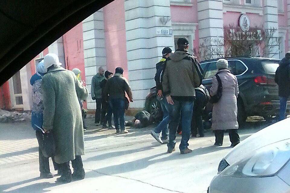 Пенсионер на БМВ X5 сбил пешеходов вБарнауле