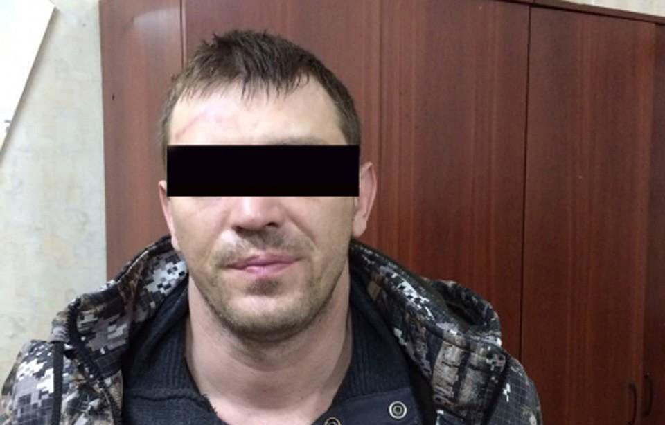 ВВоронеже полицейские сняли навидео задержание преступников банков