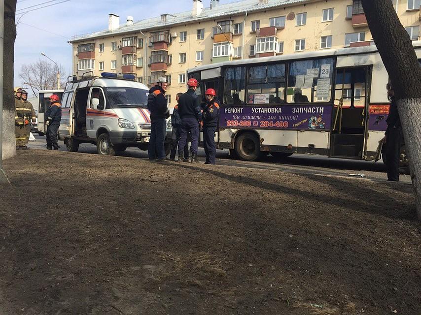 Встолкновении 2-х ПАЗов наМосковском проспекте пострадали семь человек