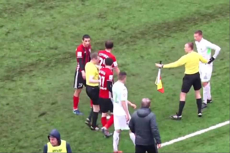 ВПерми закончился матч «Амкар»