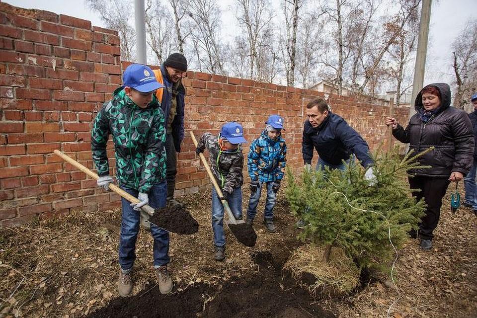 Неменее 30 тыс. иркутян приняли участие вгородском субботнике