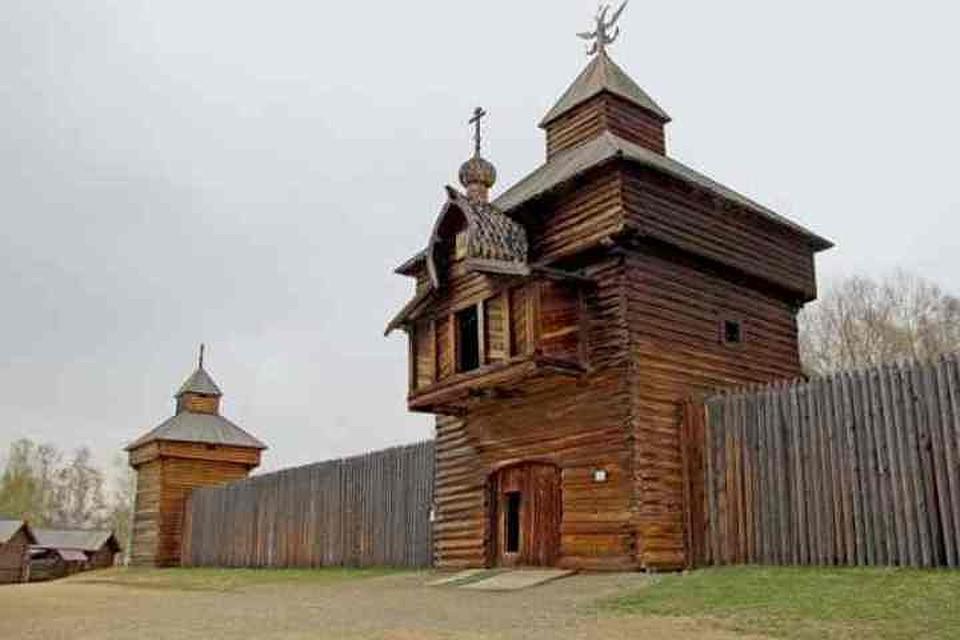 ВИркутской области воссоздают деревянную крепость XVII века