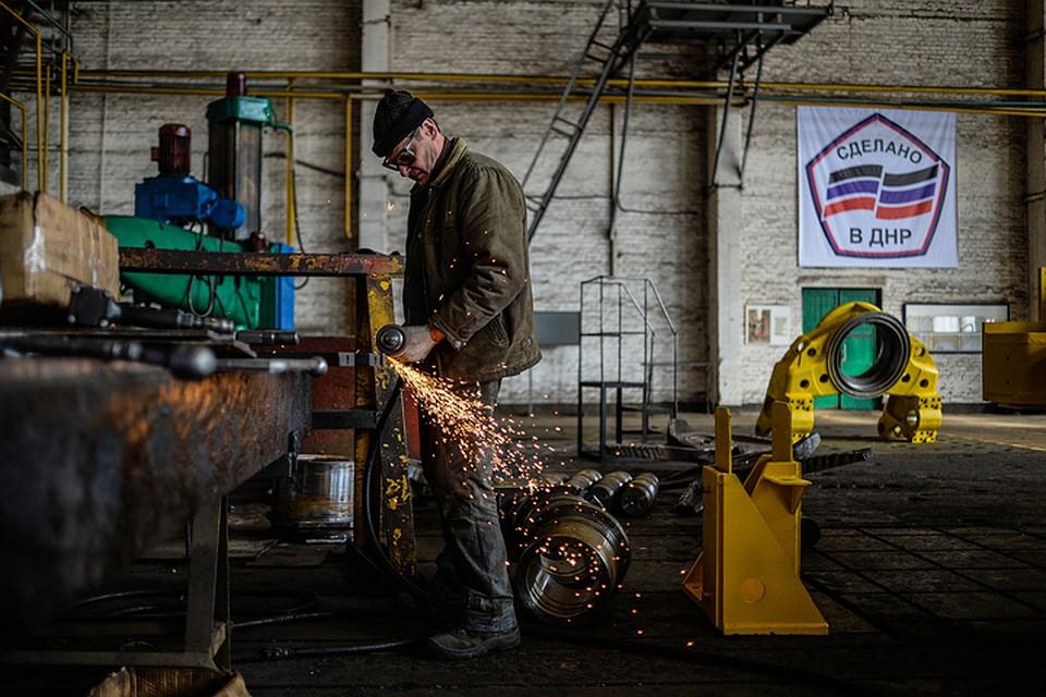 В Донбассе уверены - продукция их заводов будет востребована в России.