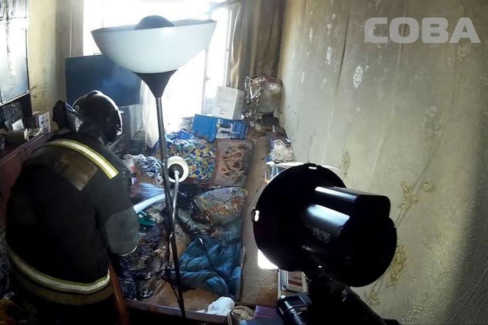 НаКолмогорово вЕкатеринбурге неизвестный убил пожилую женщину иподжёг ее квартиру