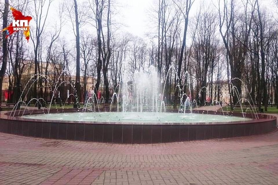 ВСмоленске отремонтировали фонтан впарке Блонье