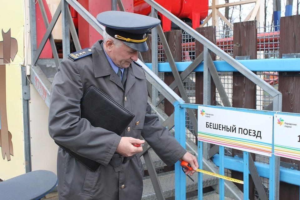Профессионалы ярославского технадзора удостоверились вбезопасности каруселей наДаманском