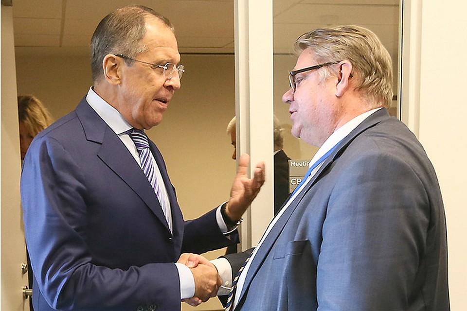 Лавров пошутил опобеде финских корреспондентов напресс-конференции