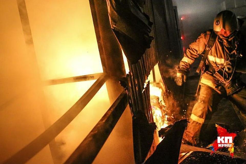 Трое мужчин погибли, двое пострадали впожаре вЧелябинске
