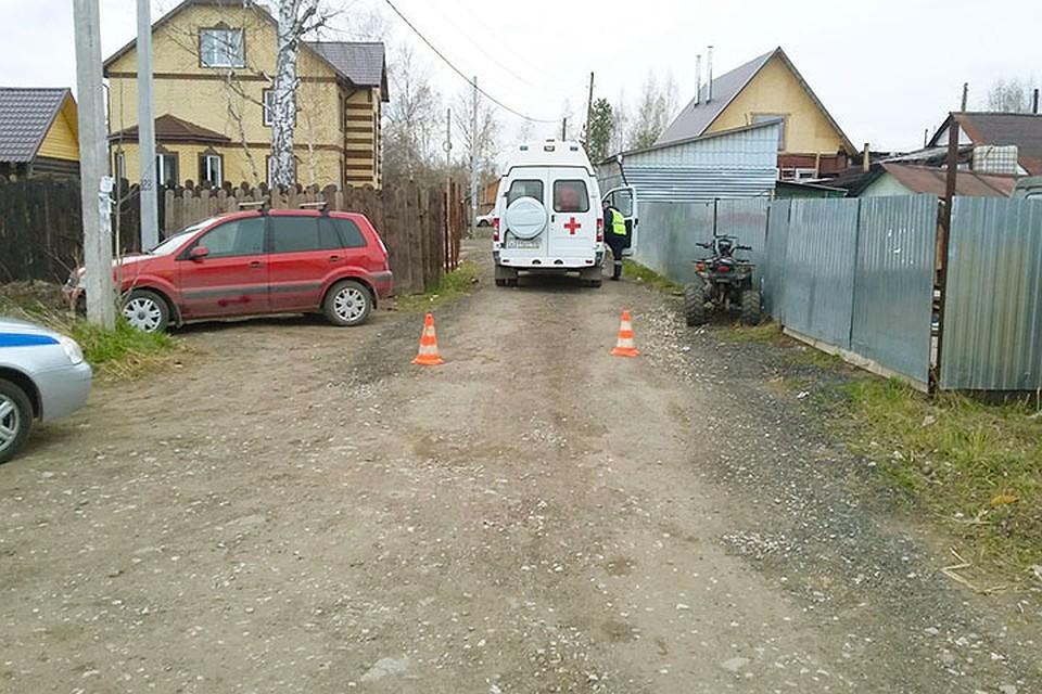 ВПерми 15-летний подросток наквадроцикле сбил 2-летнего ребёнка