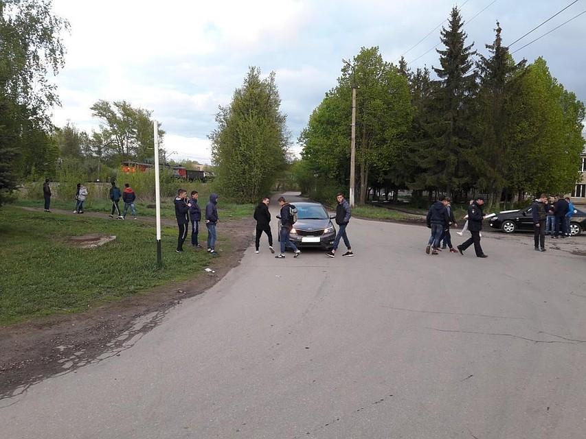 ВДонском шофёр «Киа» сбил подростка, который играл надороге