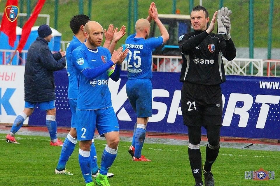 ФК «Тамбов» разгромил насвоем поле «Тосно»