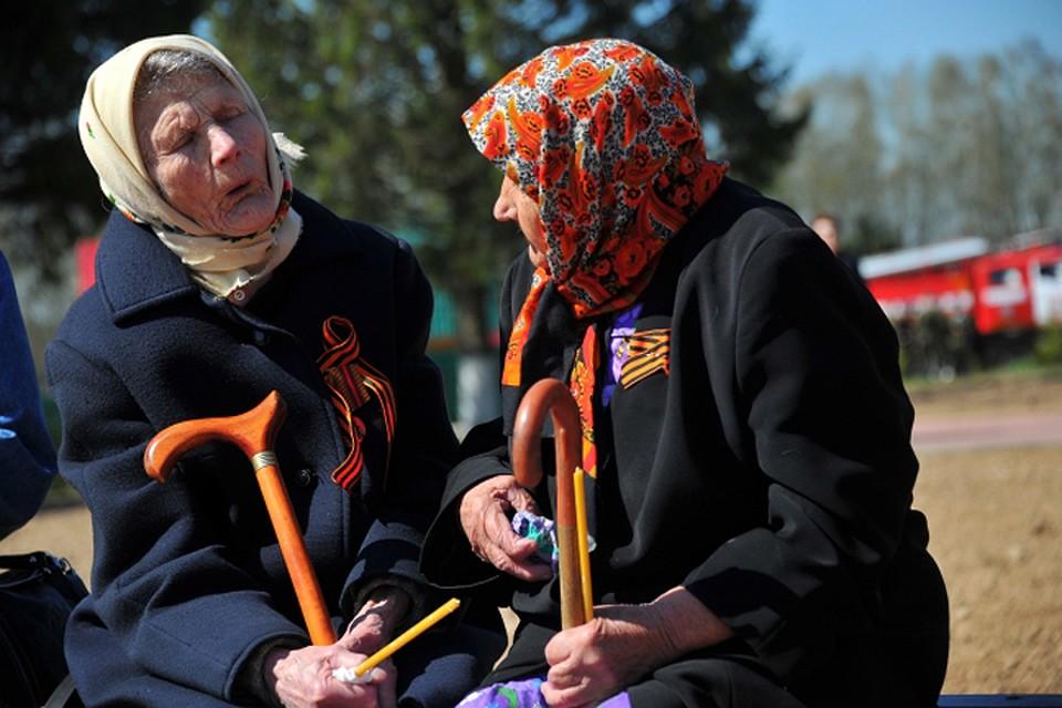 ВНижегородской области у старый женщины сорвали георгиевскую ленту