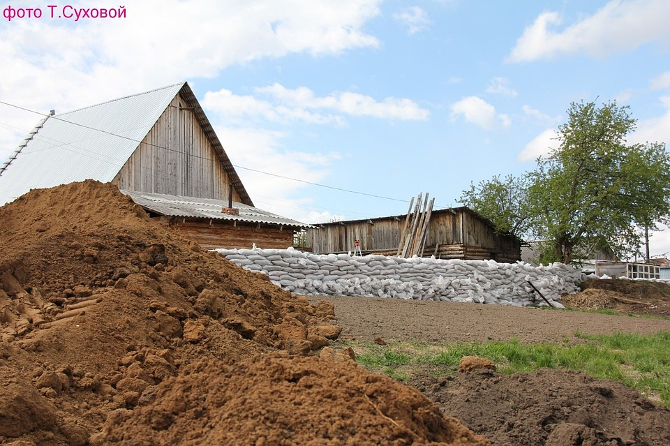 Наводнение вТюменской области добралось доВикуловского района