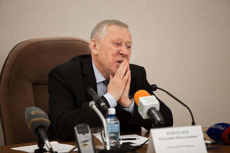 Мэр Челябинска Тефтелев вследующем году заработал 5,5 млн руб.
