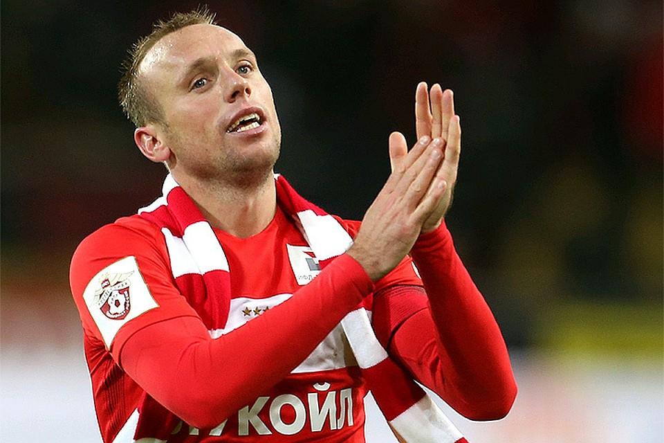 РФС признал Глушакова лучшим футболистом сезона