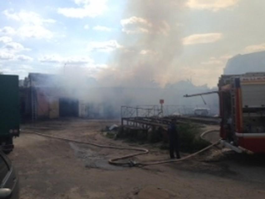 ВБелгороде случилось возгорание вшашлычной