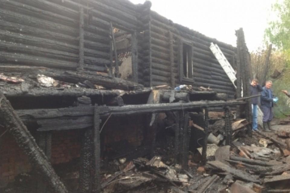 ВЧувашии впожаре погибли 4 человека, втом числе трое детей
