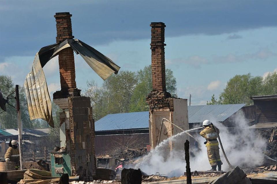 Руководитель красноярской лесопилки арестована поделу опожарах вКанске