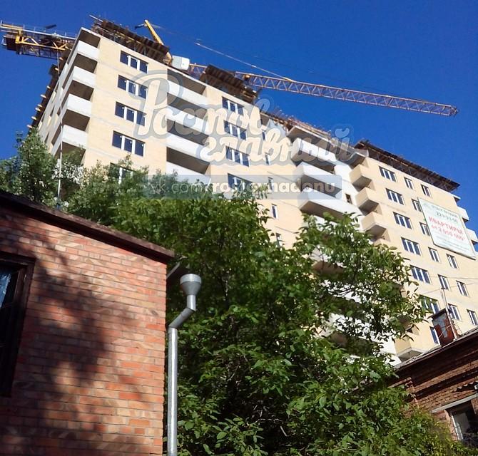 ВРостове умер рабочий, выпав с13 этажа строящегося дома