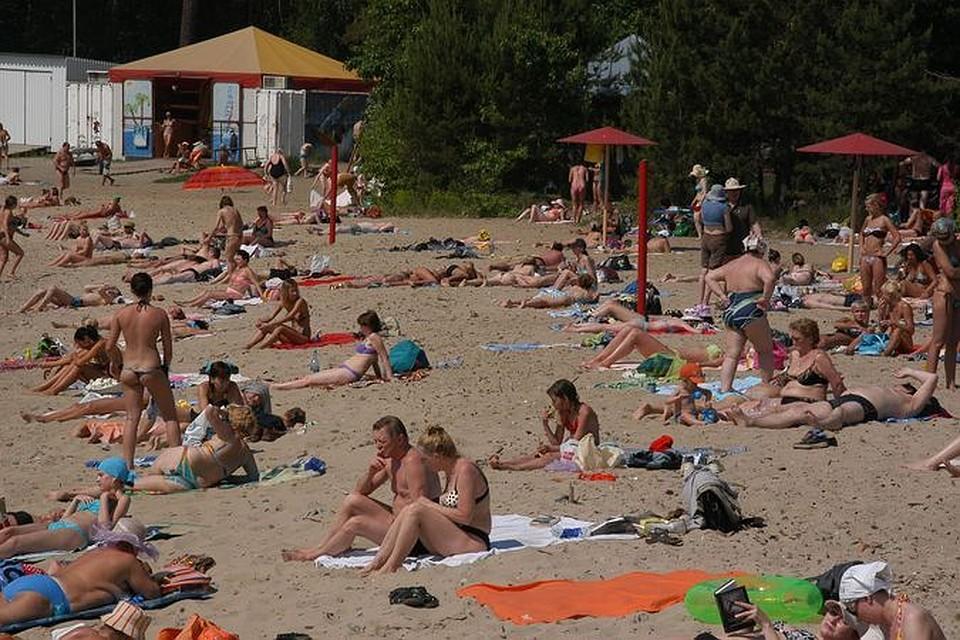 ВНовосибирске готов ксезону 1-ый в2015г. берег