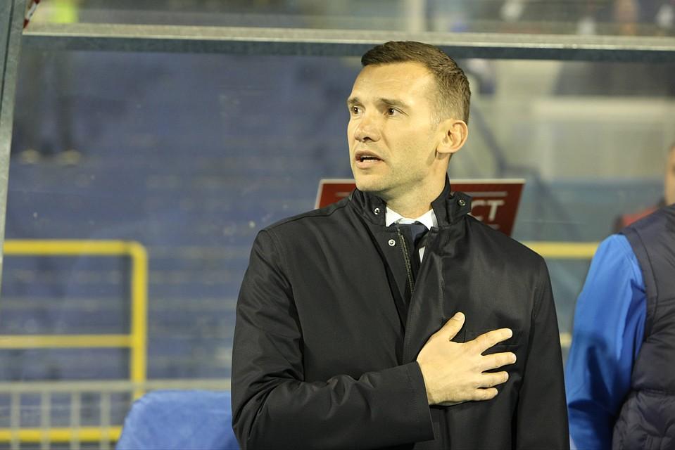 Сборная Украины пофутболу проиграла команде Мальты. Чем занят Андрей Шевченко?