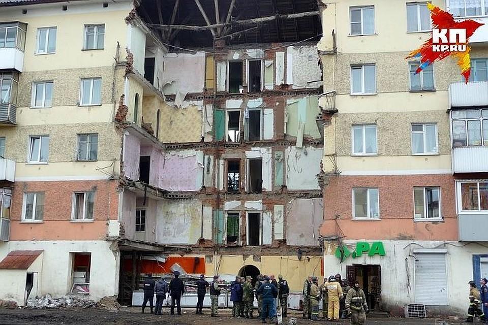 ВМеждуреченске рухнул подъезд жилого дома: размещены промежуточные результаты расследования