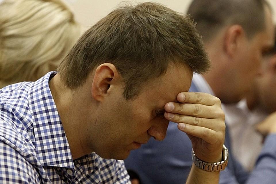 Оппозиционер Навальный получил месяц административного ареста