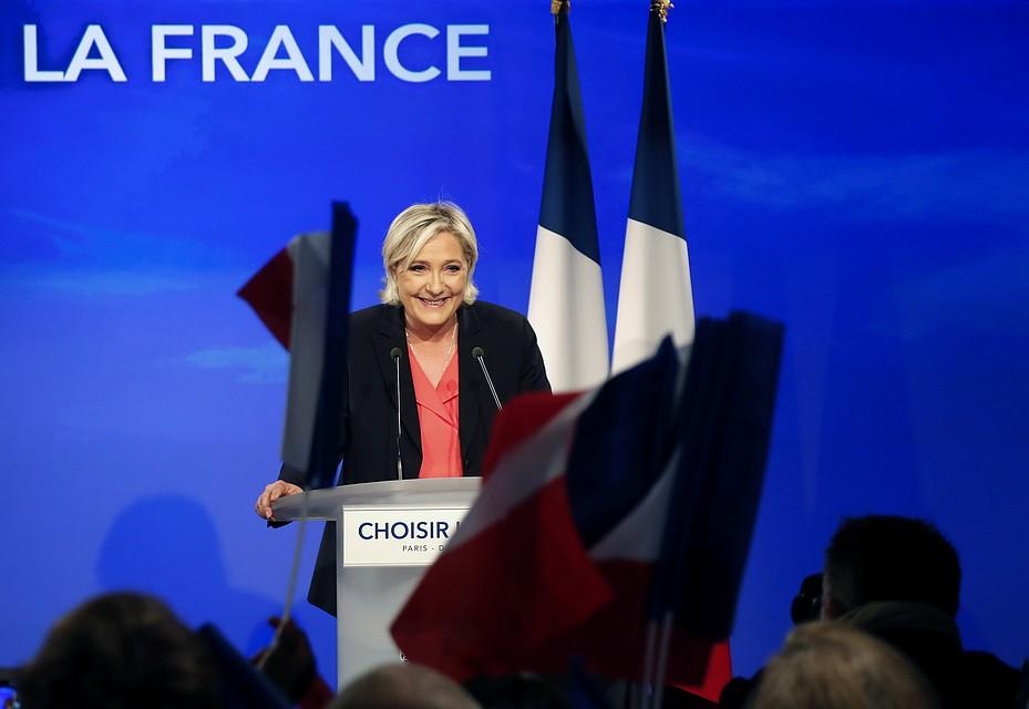 Марин ЛеПен впервый раз стала депутатом французского парламента