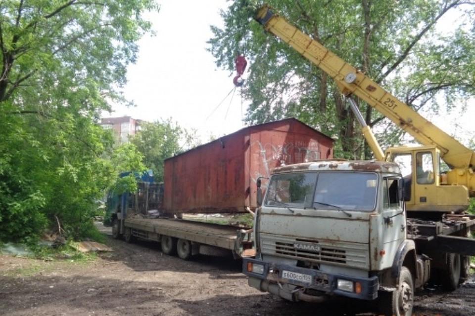 ВПерми убрали 130 гаражей стерритории, где запланировано строительство больницы