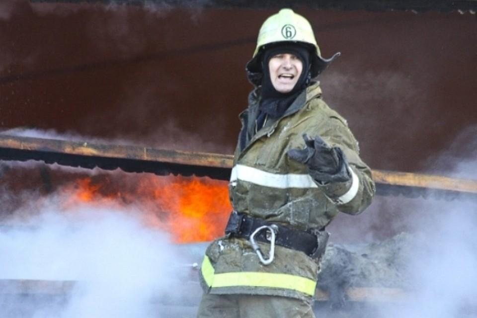 Ночной пожар произошел вТЦ «Палата» наГерцена