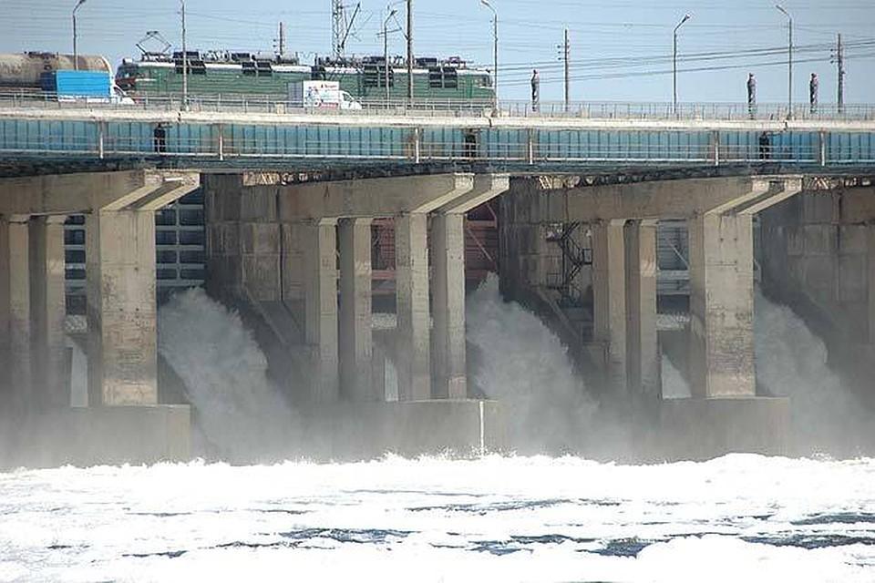 Камская ГЭС завершила холостой сброс воды