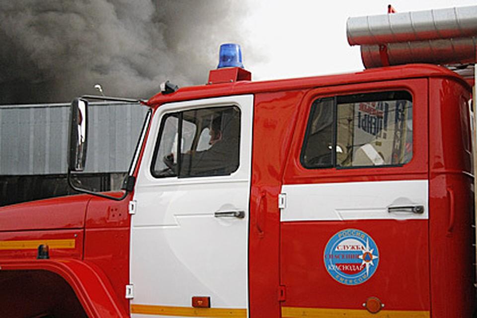 ВАдлерском районе горел личный дом