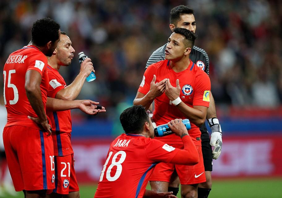 Чили иАвстралия сыграли вничью вматче Кубка конфедераций