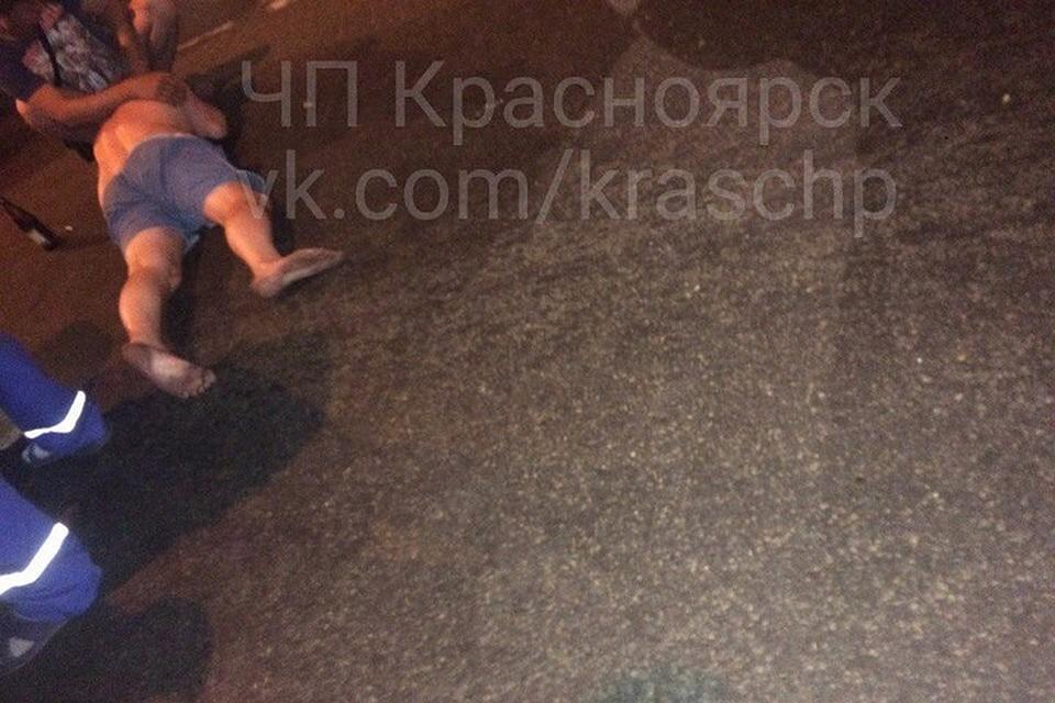 Ночное ДТП вКрасноярске: Субару Forester насмерть сбил нетрезвого пешехода