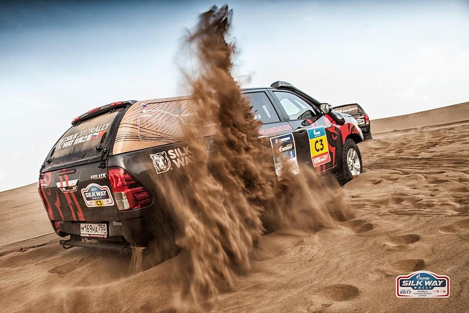 «Шёлковый путь» собирает звезд мирового автомобильного спорта  — Ралли-рейды