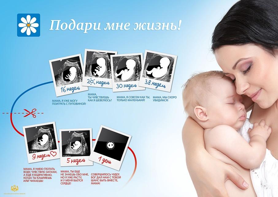 Акция «Подари мне жизнь!» против абортов