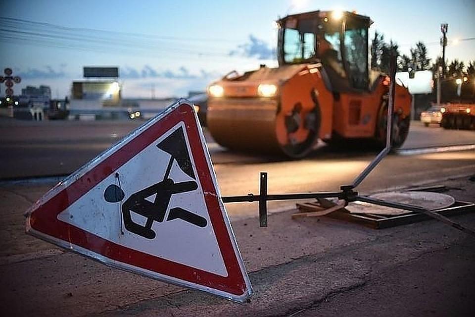 Движение поучастку Большеохтинского проспекта закроют из-за ремонта дорожного полотна