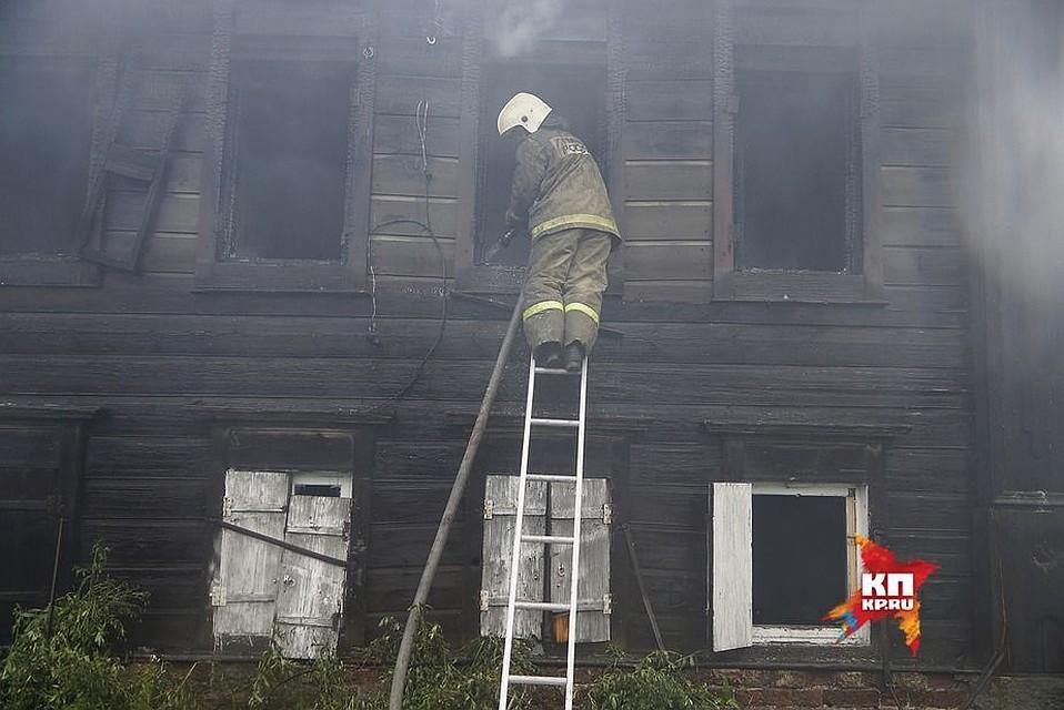 ВЕкатеринбурге устранили пожар наскладе спродуктами