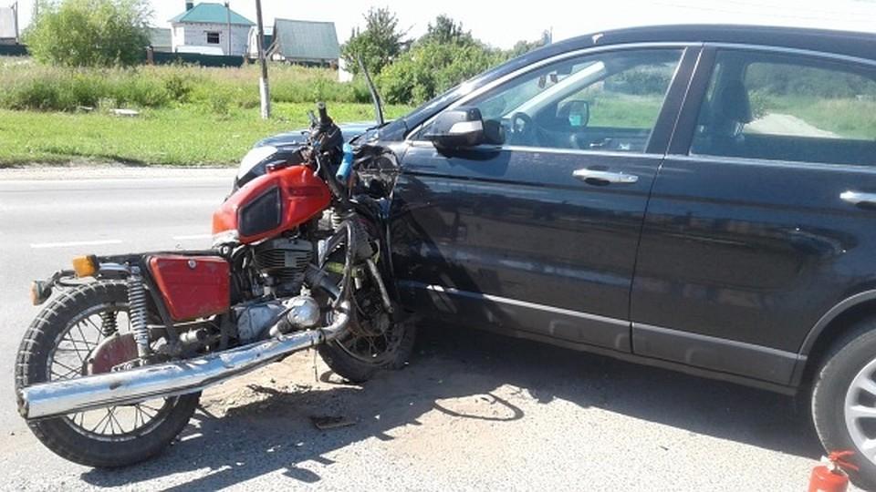 Очередное ДТП случилось сучастием мотоцикла вМихайловском районе