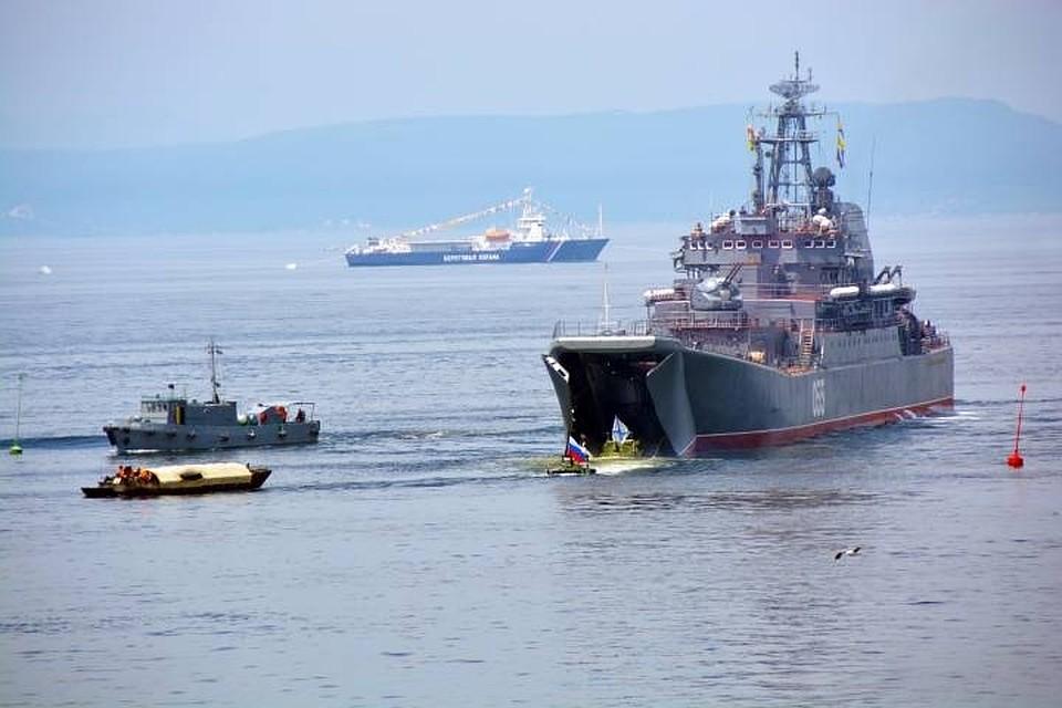 Русские  морпехи победили всоревнованиях «Морской десант»