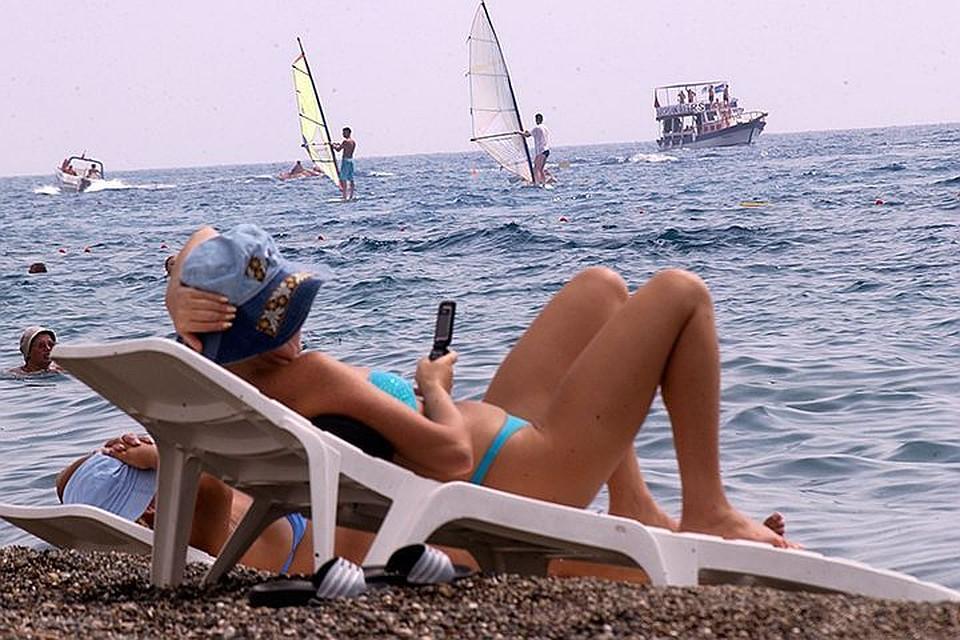 Российская Федерация оказалась лидером почислу туристов вТурции впервом полугодии