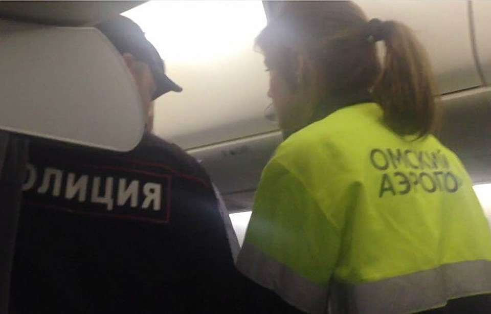 Пассажиры рейса «Москва-Омск» устроили нетрезвый дебош наборту самолета