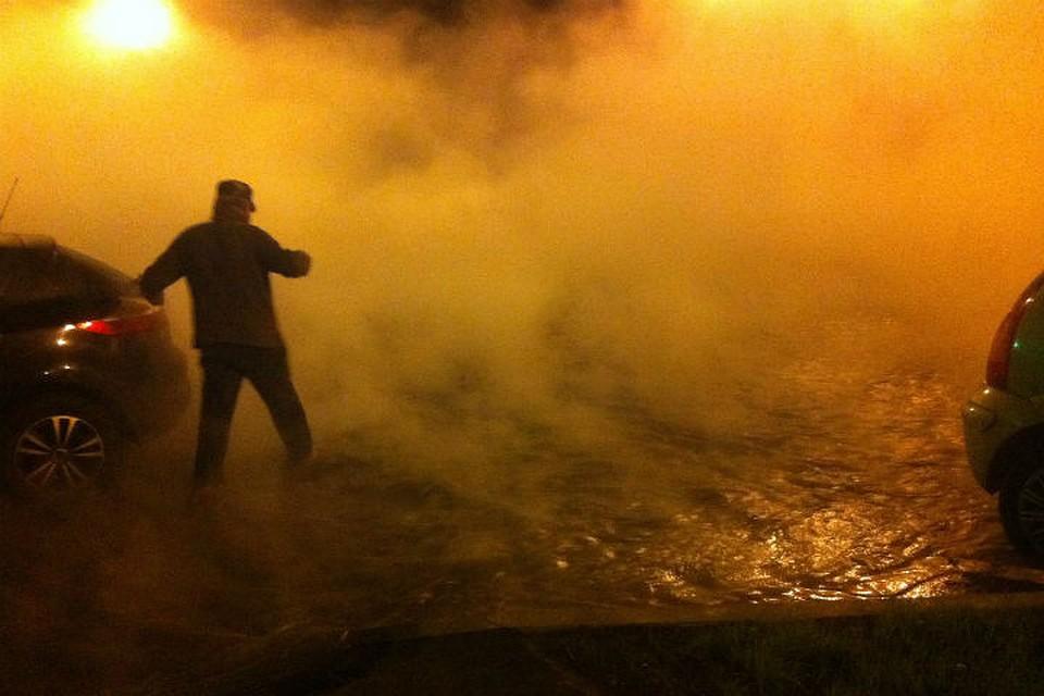 Мужчина попал вразлив кипятка наДальневосточном проспекте